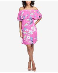RACHEL Rachel Roy - Off-the-shoulder Dress, Created For Macy's - Lyst