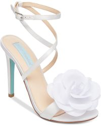 Betsey Johnson - Blue By Terra Sandals - Lyst