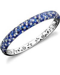Effy Collection - Shades Of Sapphire Bangle Bracelet (10-3/8 Ct. T.w.) In Sterling Silver - Lyst