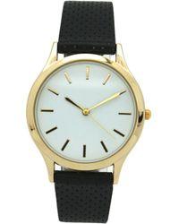 Olivia Pratt - Simple Perforated Strap Watch - Lyst