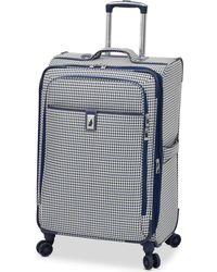 "London Fog   Oxford Hyperlight 25"" Expandable Spinner Suitcase   Lyst"