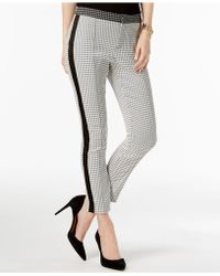 INC International Concepts - I.n.c. Striped Skinny Pants, Created For Macy's - Lyst