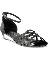Easy Street Tarrah Evening Sandals - Black