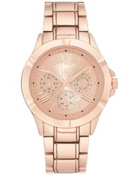 INC International Concepts - Rose Gold-tone Stainless Steel Bracelet Watch 38.5mm, Created For Macy's - Lyst