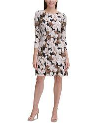 Tommy Hilfiger - Floral-print Jersey Dress - Lyst