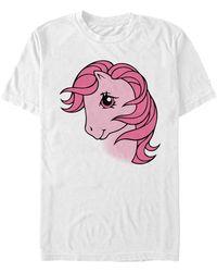 Fifth Sun Cotton Candy Face Short Sleeve Crew T-shirt - White