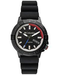 Columbia Peak Patrol Black Silicone Strap Watch 42mm