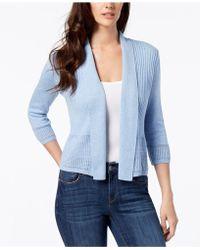 Karen Scott - Shawl-collar Cardigan, Created For Macy's - Lyst