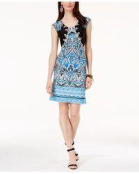 INC International Concepts - I.n.c. Printed Sheath Dress, Created For Macy's - Lyst