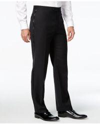 Calvin Klein - Tuxedo Separates, Black Pants - Lyst