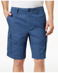 """Tommy Hilfiger - 10"""" Cargo Shorts, Created For Macy's - Lyst"""