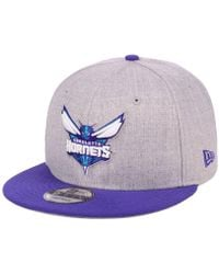 online store 8f2fc e29df KTZ Charlotte Hornets State Reflective Redux 59fifty Cap in Green for Men -  Lyst