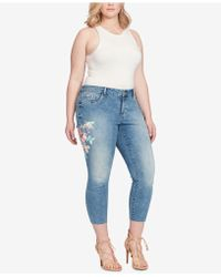 Jessica Simpson - Trendy Plus Size Kiss Me Ankle Jeans - Lyst