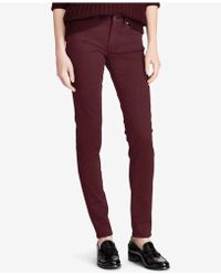 Polo Ralph Lauren - Tompkins Sateen Skinny Jeans - Lyst