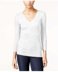 INC International Concepts - Ribbed Top, Only At Macy's - Lyst