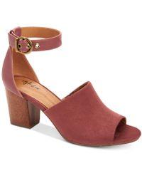 Style & Co. - Priyaa Block-heel Sandals, Created For Macy's - Lyst