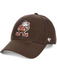 47 Brand Cleveland Browns Mvp Cap