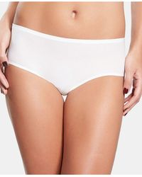 Chantelle Soft Stretch One Size Seamless Hipster Underwear 2644, Online Only - White