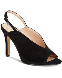 Adrienne Vittadini Geren Court Shoes - Black