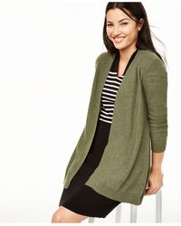 Charter Club Nicki Cashmere Open-front Cardigan, Regular & Petite Sizes, Created For Macy's - Multicolour