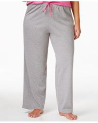 Hue - Plus Size Knit Pyjama Trousers - Lyst