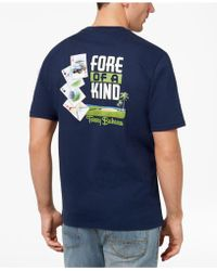 Tommy Bahama - Fore Of A Kind Graphic-print T-shirt - Lyst