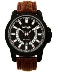 Wrangler Watch - Brown