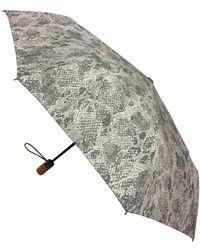London Fog Classic Mini Auto Open Close Umbrella - Multicolor