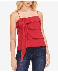 Vince Camuto - Tiered Tie-neck Camisole - Lyst