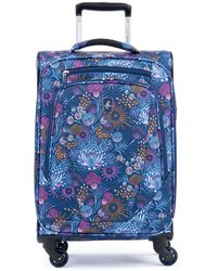 """Atlantic ® Infinity® Lite 4 25"""" Expandable Spinner Suitcase - Blue"""