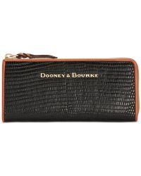 Dooney & Bourke - Continental Zip Clutch Wallet - Lyst