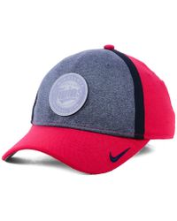 huge selection of 3913a f177c Nike - Minnesota Twins Team Color Reflective Swooshflex Cap - Lyst