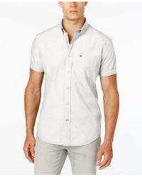 e9666344 Lyst - Tommy Hilfiger Men's Shane Striped Shirt in White for Men