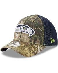 superior quality b6412 014a1 KTZ New England Patriots Realtree Hunter Neo 39thirty Cap for Men - Lyst