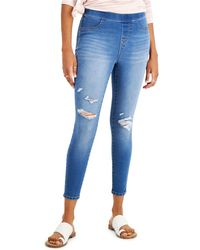 Style & Co. Pull-on Jeggings, Created For Macy's - Blue