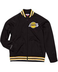 Mitchell & Ness - Los Angeles Lakers Top Prospect Track Jacket - Lyst