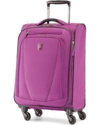 """Atlantic - Infinity Lite 3 21"""" Expandable Spinner Suitcase - Lyst"""