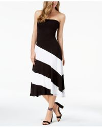 INC International Concepts - Colorblocked Maxi Skirt - Lyst