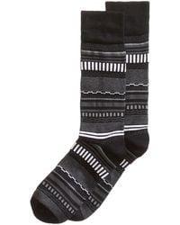 Perry Ellis - Soft Luxury Striped Dress Socks - Lyst