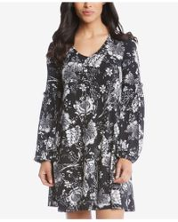 Karen Kane - Printed Pullover Dress - Lyst