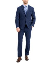 Perry Ellis Slim-fit Comfort Stretch Suit - Blue