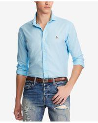 Polo Ralph Lauren - Big & Tall Classic Fit Shirt - Lyst