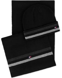 Tommy Hilfiger - Signature Hat & Scarf Set, Created For Macy's - Lyst