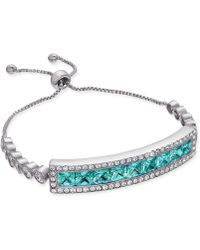 Joan Boyce - Cubic Zirconia Slider Bracelet - Lyst
