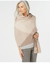 Charter Club - Argyle Oversized Scarf, Created For Macy's - Lyst