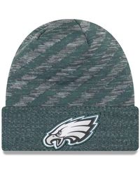 6dc225bd4 Nike Synthetic Historic (nfl Eagles) Knit Hat (silver) in Green for ...