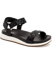 Alfani Xandrea Sporty Flat Sandals, Created For Macy's - Black