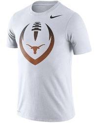 Nike - Texas Longhorns Dri-fit Cotton Icon T-shirt - Lyst