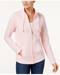 Charter Club - French Terry Jacket - Lyst
