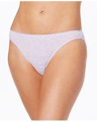 Charter Club | Pretty Cotton Bikini | Lyst